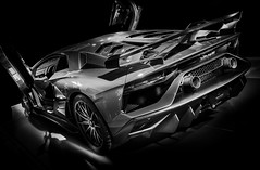 SVJ (Dave GRR) Tags: lamborghini aventador svj supercar hypercar exoticcar toronto auto show 2019 monochrome mono bw olympus