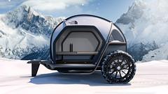 BMW Designworks & The North Face's New Camper Concept (Automotive Rhythms) Tags: automotiverhythms bmw bmwdesignworks thenorthface futurelightcamper nanospinningtechnology 2008bmwginalightvisionarymodelconceptcar camping campinggear bmwdesignworkscollaborateswiththenorthfacetoimaginenewcamperconcept