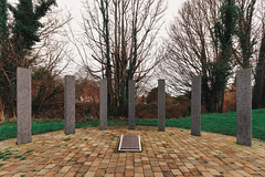 1916 GARDEN OF REMEMBRANCE [STATION ROAD LEIXLIP]-148222 (infomatique) Tags: 1916 memorial 1916gardensofremembrance leixlip countykildare stationroad easterrising williammurphy infomatique fotonique streetsofireland sony a7riii sigma 14mmlens wideanglelens