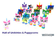 Hall of Unikitties & Puppycorns (WhiteFang (Eurobricks)) Tags: lego collectable minifigures series city town space castle medieval ancient god myth minifig distribution ninja history cmfs sports hobby medical animal pet occupation costume pirates maiden batman licensed dance disco service food hospital child children knights battle farm hero paris sparta historic brick kingdom party birthday fantasy dragon fabuland circus people photo magic wizard harry potter jk rowling movies blockbuster sequels newt beasts animals train characters professor school university rare toy bear