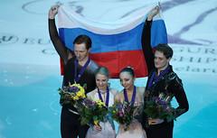 Фигурное катание. Чемпионат Европы по фигурному катанию (Sport24.ru) Tags: sport спорт медаль флаг россия сборнаяроссии