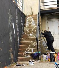 281A6290 Rennes Impermanence Galerie @Eve le Trévédic (blackbike35) Tags: rennes bretagne france impermanence galerie mur wall street streetart paint painting art work writing artistes women