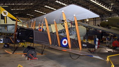 Avro 504K (Replica) (Erwin's photo's) Tags: yorkshire air museum allied forces memorial halifax way elvington york yo41 4au united kingdom england preserved aircraft royal force navy army raf rn avro 504k replica