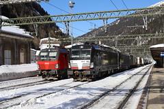 ÖBB 1293 022-0 und Lokomotion 193 663-2, 193 701-0, Brennero (TaurusES64U4) Tags: vectron br193 1293 öbb lokomotion mrce