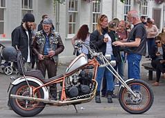 It's just the Beer talkin... (Harleynik Rides Again.) Tags: bikers streetlife chopper motorcycle bike people beer harleynikridesagain