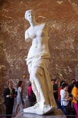 The Louvre - Paris - Venus de Milo (sarowen) Tags: venusdemilo louvremuseum thelouvre muséedulouvre paris parisfrance france museum art sculpture
