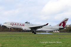 A330-243F A7-AFZ QATAR AIRWAYS CARGO (shanairpic) Tags: jetairliner cargo freighter a330 airbusa330 shannon qatarairways a7afz