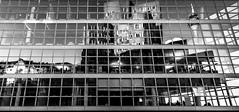 Mirrored reality (Iso_Star) Tags: architektur sony samyang 14mm ilce7m3 düsseldorf deutschlang germany building city stadt medienhafen sonyilce7m3 samyangaf14mmf28 mirror spiegel gepiegelt bw monochrome einfarbig schwarzweiss spiegelung