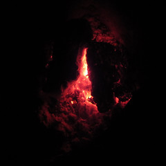 Fire Embers (Redcognito) Tags: embers fireplace heat molten hot fire burnedwood