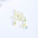 Medicine capsules on white background thumbnail