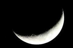 a crescent moon (kensrose7) Tags: crescent moon 三日月