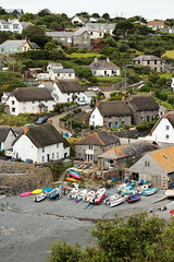 Cadgwith (Mike.Dales) Tags: cadgwith canon50mmf18stm harbour cove fishingboats cornwall england beach