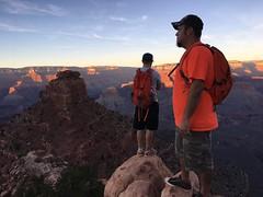 (Smalltowntx87) Tags: arizona grand canyon vacation trips iphone beautiful sunset desert cactus texas ram 1500 ranch photography travel