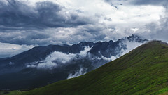 Mountains of Zakopane (BenedekM) Tags: mountainsofzakopane mountains zakopane poland landscape green view nikond3200 cloudy clouds foggy fog