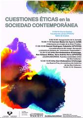 Cuestiones éticas en la sociedad contemporánea (EHUkultura) Tags: ehu ehukultura cbl campusbizialab upvehu