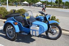 URAL Tourist 750 (SASSAchris) Tags: ural tourist 750 moto russe 2 tours dhorloge castellet circuit ricard side car sidecar