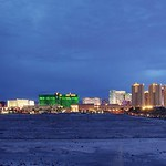 Las Vegas Strip in blue hour thumbnail