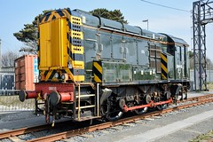 08410 Long Rock, Penzance (cmc_1987) Tags: 08410 gwr fgw class08 gronk br britishrail dieselshunter longrock penzance pilot