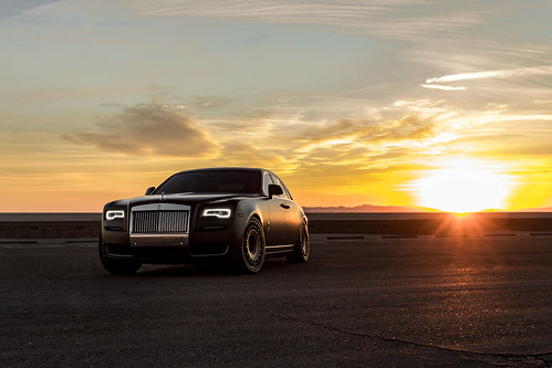 Rolls Royce Ghost On Rotiform Wheels For Boden Autohaus A Photo On