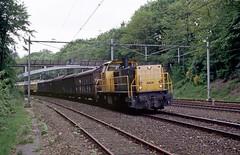 Baarn, Gooise goederentrein (Ahrend01) Tags: buurtgoederentrein ns goederen serie 6400 vam bensdorp baarn spoorbrug