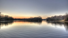Hollows Sunset 3 (ArtGordon1) Tags: london england uk winter january 2019 davegordon davidgordon daveartgordon davidagordon daveagordon artgordon1 sunset reflections reflection hollowpond hollowponds water pond lake