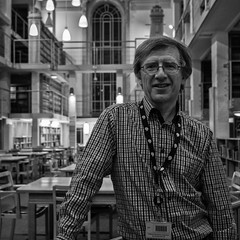 Haydn (evans.photo) Tags: nlw people portraits workplace library librarians wales nationallibraryofwales llyfrgellgenedlaethol aberystwyth ceredigion