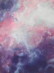 675 (Cheryl Gaer Barlow) Tags: angels angel heaven sky impressionistic painting paintingsart