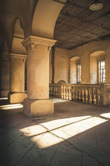 Afternoon Sunlight (Some Place Only We Know) Tags: sunlight shadow sun afternoon schatten säule schloss castle old beauty precious abandoned verlassen decay verfall urbex