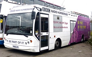 PO56 JFX 'BBC Radio Humberside'. MAN 14.220 / East Lancs on Dennis Basford's railsroadsrunways.blogspot.co.uk'