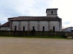 Orx, Landes: église Saint-Martin, XVII°, clocher du XVIII° (Marie-Hélène Cingal) Tags: france sudouest 40 landes aquitaine nouvelleaquitaine macs orx