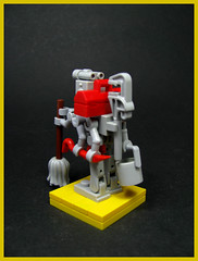Quasimodo the Armed Janitor Bot (Karf Oohlu) Tags: lego moc droid robot bot janitor manyarms armed quasimodo
