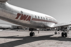 TWA Lockheed Constellation (Serendigity) Tags: arizona constellation lockheed pima pimaairspacemuseum twa transworldairline tucson usa unitedstates aircraft airliner aviation desert museum outdoors unitedstatesofamerica