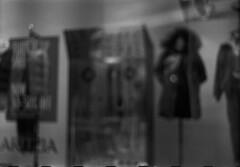 Store Window (Pics from the Bird Cage) Tags: argentique leica leicaiiic hp5 film ilfordhp5plus400 35mm alberta ishootfilm leica3c ilfordhp5plus ilfosol3 edmonton edmontonalberta blackandwhite blackwhite summitar summitar5cmf20 barnack whyteavenue analog analogue bulkfilm classiccamera camera monochrome iso iso400