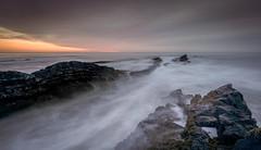 Glimmer (ianbrodie1) Tags: northumberland northeast sea seascape coast coastline scar howick rocks water longexposure sunrise