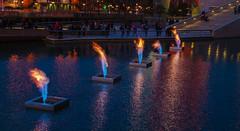 Fire Art (michael.heiss) Tags: spain spanien baskenland basque bilbao fire feuer guggenheim