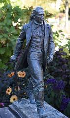 Brigham Young, Sculpture, (Mr. History) Tags: saltlakecity mormon utah religion sculpture statue brinham young walking bronze
