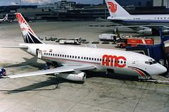 AMC Airlines Boeing 737-200 SU-AYK (gooneybird29) Tags: flugzeug flughafen aircraft airport airplane airline zrh boeing 737 amc suayk