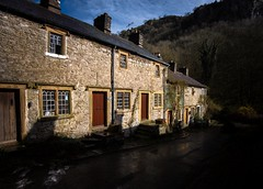 Cottages (Phil-Gregory) Tags: nikon d7200 tokina tokina1120mmatx 1120mmproatx11 1120mm scenicsnotjustlandscapes houses building peakdistrict peakdistrictderbyshire light cressbrookdale monselhead