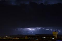 2019.03.24 - 221130 (NIKON D7200) [Amora] (Nuno F. C. Batista) Tags: clouds nuvens amora seixal portugal lusoskies lightning relâmpago thunderstorm trovoada storm night sky nikon severe weather storms photography margem sul skies portuguese meteorology cumulunimbus d7200