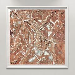 Wunpost, CA, USA (Bart van Damme) Tags: oilfields wunpost california usa bartvandamme satelliteart landscapetypology zerpgallery manmadelandscapes studiovandamme artphoto transitionallandscape