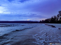 180803-15 La plage (2018 Trip) (clamato39) Tags: olympus kohrong island île bluehour heurebleue cambodge cambodia asia asie voyage trip sky clouds beach plage