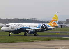 Trade Air A320-200 9A-BTH (birrlad) Tags: shannon snn international airport ireland aircraft aviation airplane airplanes airline airliner airlines airways taxi taxiway takeoff departing departure delivery painting tradeair a320 a320200 a320214 9abth