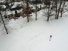 Aerial Snow Scenes - Jan 2019 -1 (KathyCat102) Tags: dji spark quadcopter drone aerial photography golfcourse gc