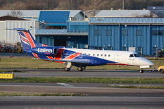 G-CGMB Embraer 135ER EGPD 23-12-14 (MarkP51) Tags: aberdeen dyce airport abz egpd scotland helicopter airliner aircraft airplane plane image markp51 nikon d7100