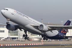 Airbus A330-301 – Brussels Airlines – OO-SFM – Brussels Airport (BRU EBBR) – 2018 11 03 – Takeoff RWY 19 – 01 – Copyright © 2018 Ivan Coninx (Ivan Coninx Photography) Tags: ivanconinx ivanconinxphotography photography aviationphotography airbus airbusa330 a330 a330301 brusselsairlines oosfm brusselsairport bru ebbr aviation sn501 takeoff