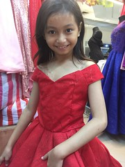 ta ta ta taaaa (ghostgirl_Annver) Tags: asia asian annver girl teen preteen child kid daughter sister family portrait red dress gown beautiful