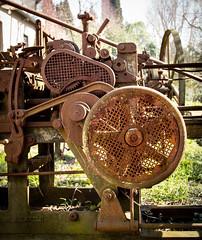 Machine (Robert Barone) Tags: italia italy olympusep5 roma rome commute machine rust appiaantica olympus25mmf18 parcoregionaledellappiaantica industrial ruggine