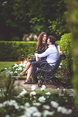 Chemistry (solomiya.p) Tags: love couple pair two park grass outdoor bokehlicious bokeh dof day summertime summer flowery flowers date 135mm canon story lovestory botanical mood chemistry