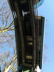 Undercarriage (daveandlyn1) Tags: chesterzoo chester monorail undercarriage somebluesky trees transport pralx1 p8lite2017 huawei smartphone psdigitalcamera cameraphone track coupling