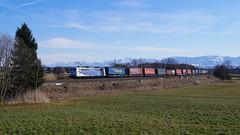 151 056 / Lokomotion - Vogl (lukasrothmann) Tags: bayern oberbayern heimat rann berge alpen kampenwand hochries train trains lok zug lokomotion 151 056 klv